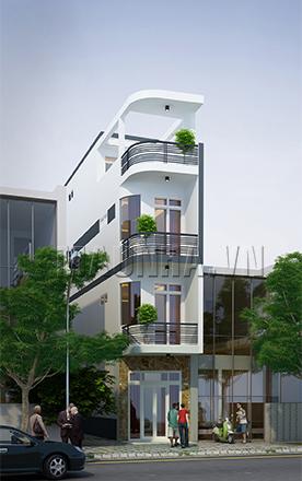 nhà phố 2.7 x 16.3 3,5 tầng MNP-00001