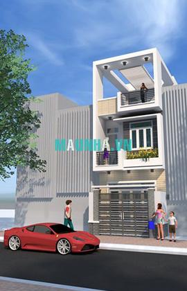 nhà phố 4 x 16 2,5 tầng MNP-00002
