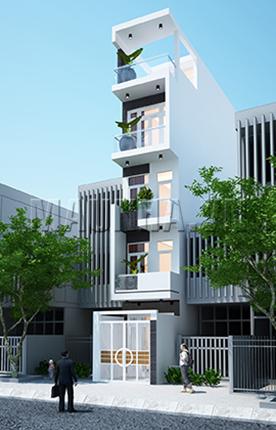 nhà phố 3.1 x 16 4,5 tầng MNP-00004