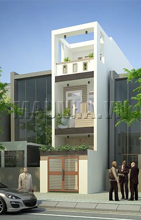 nhà phố 3.1 x 15.9 2,5 tầng MNP-00006