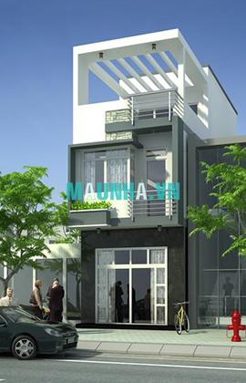nhà phố 4 x 18 2,5 tầng MNP-00007