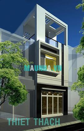 nhà phố 4 x 18 2,5 tầng MNP-00008