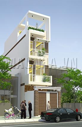 nhà phố 3.3 x 19.4 3,5 tầng MNP-00010