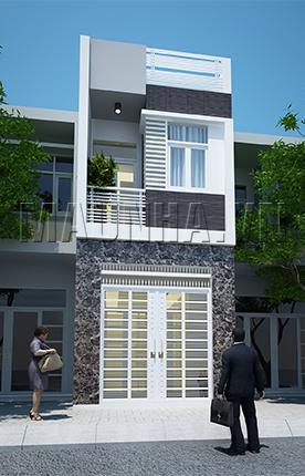 nhà phố 3.4 x 10.5 2 tầng MNP-00011