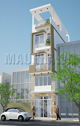 nhà phố 3.5 x 9.4 4,5 tầng MNP-00012