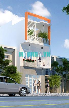 nhà phố 4 x 18 2,5 tầng MNP-00013