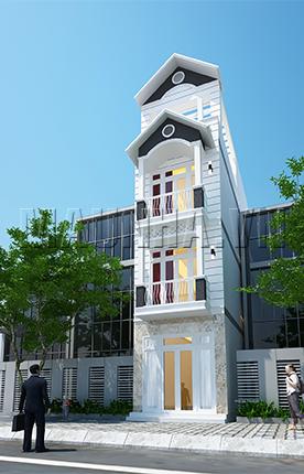nhà phố 3.5 x 11.4 3,5 tầng MNP-00015