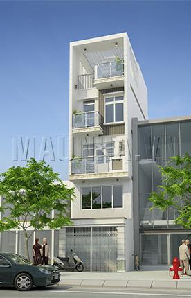 nhà phố 3.7 x 10.4 4,5 tầng MNP-00023