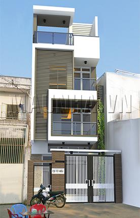 nhà phố 4.9 x 27.1 3,5 tầng MNP-00043