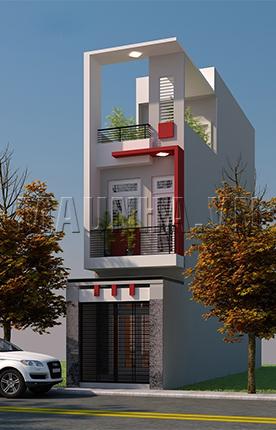 nhà phố 3.1 x 14.5 2,5 tầng MNP-00187