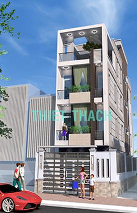 nhà phố 4.1 x 18.7 4 tầng MNP-00192