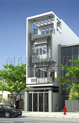nhà phố 4.2 x 13.7 4 tầng MNP-00194