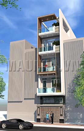 nhà phố 4.2 x 23.6 4,5 tầng MNP-00195