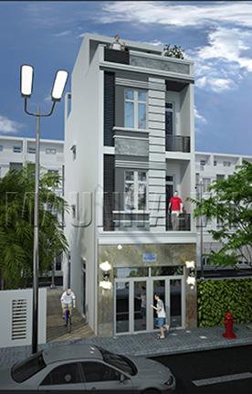 nhà phố 4.3 x 10.8 3,5 tầng MNP-00196