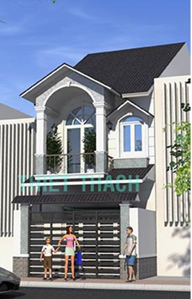 nhà phố 4.6 x 13.5 2 tầng MNP-00197