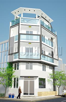 nhà phố 4 x 7.8 4,5 tầng MNP-00198