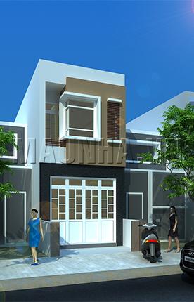 nhà phố 4 x 11.7 2 tầng MNP-00202