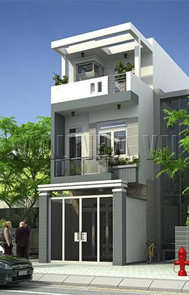nhà phố 4 x 13.8 3 tầng MNP-00206
