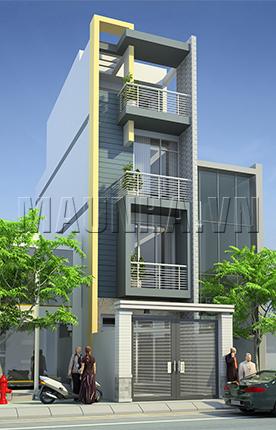 nhà phố 4 x 18 4 tầng MNP-00209