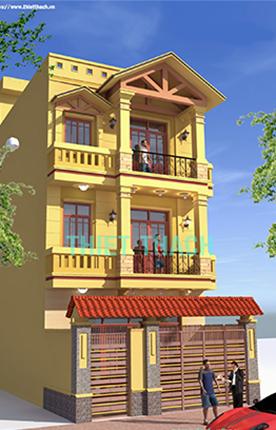 nhà phố 6 x 16 3 tầng MNP-00213