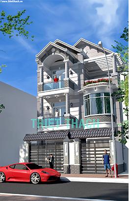 nhà phố 8.5 x 18.5 3 tầng MNP-00215
