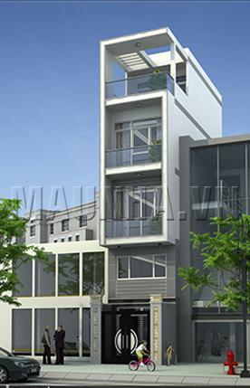 nhà phố 3.3 x 10.9 4,5 tầng MNP-00220